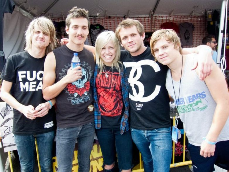 Tonight Alive at Bamboozle 2011.