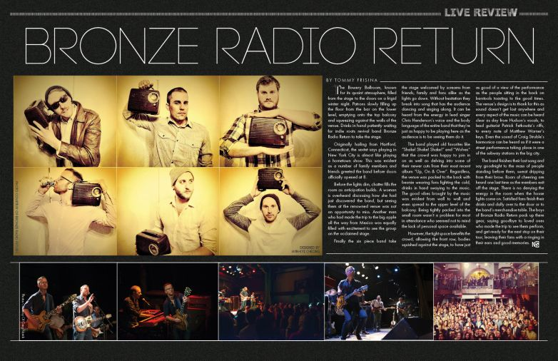 BRONZE RADIO RETURN